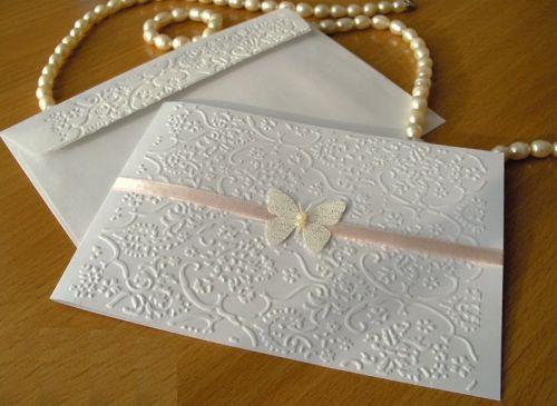 Modelos De Convites De Casamento Branco Com Renda