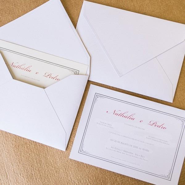 Convite De Casamento Em São Paulo
