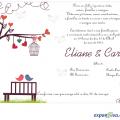Convite De Casamento Png