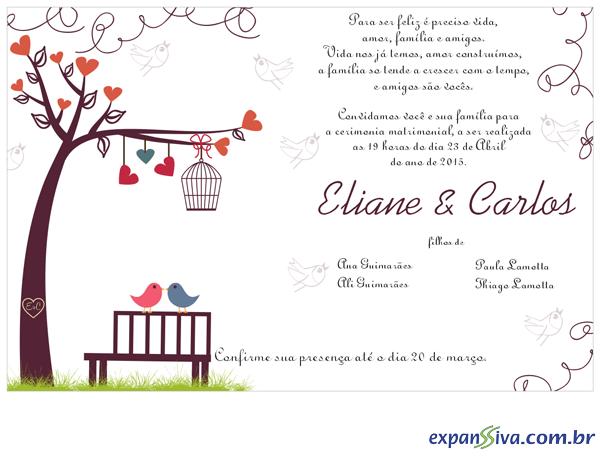 Passaros Para Convite De Casamento Png 2 » Png Image