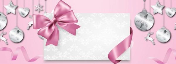 Fundo De Anúncio De Banner Convite Rosa Pink Convite Banner