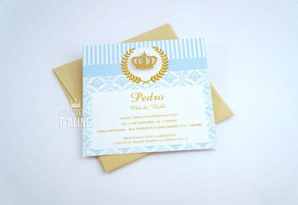 Convite Príncipe   Realeza