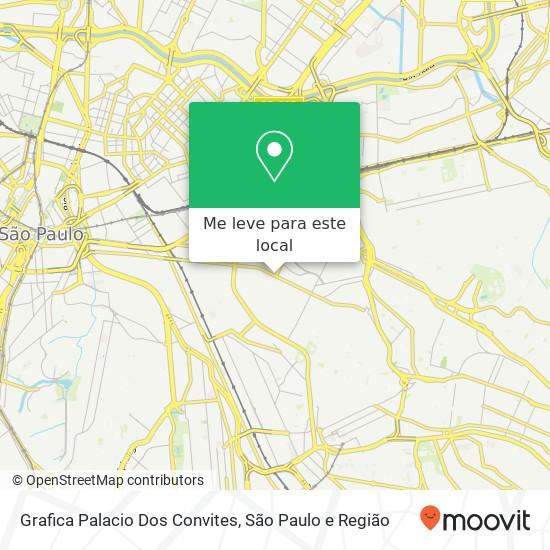 Como Chegar Até Grafica Palacio Dos Convites Em Mooca De Ônibus
