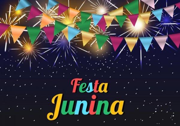 Fundo Do Molde Junina Festa