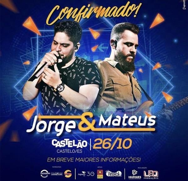 Jorge & Mateus Em Castelo Em Outubro