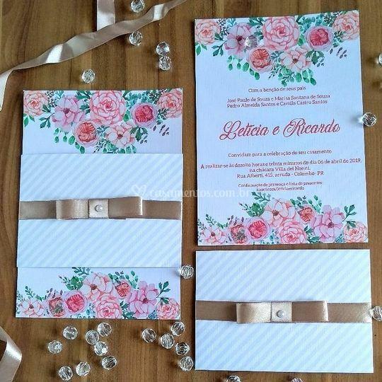 P Paper Ateliê De Convites