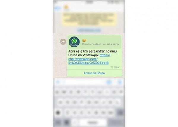 Whatsapp Para Iphone Permite Enviar Convite Para Grupos Por Link